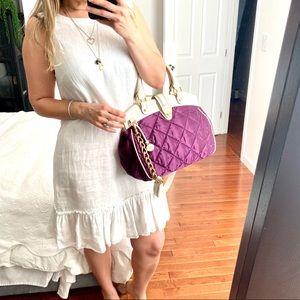 Island Company Linen Sleeveless White Dress Large